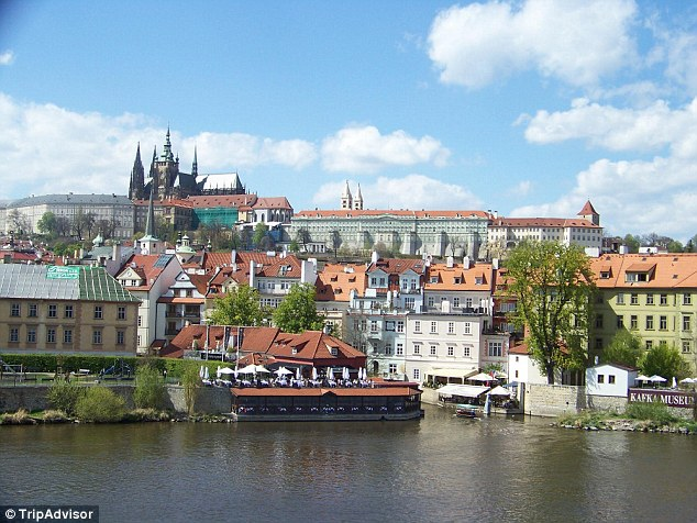 Prague came home fifth in the list, known for its Old Town Square and colorful baroque buildings