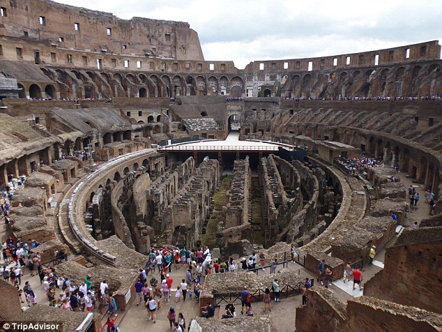 Rome, Italy, remains as popular as ever with tourists, particularly the Colosseum in the heart of the city