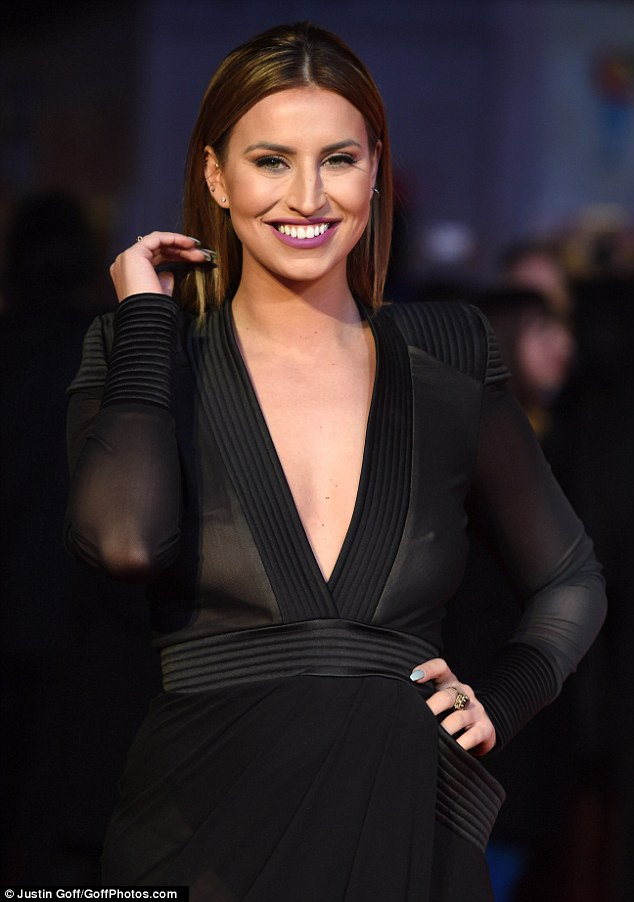 Red Faced Ferne McCann Cringes After Accidentally Flashing