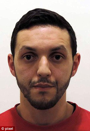 Wanted: Mohamed Abrini, 30, allegedly drove the brothers to Paris to carry out the attacks and is accused of being involved with the plot. He remains at large