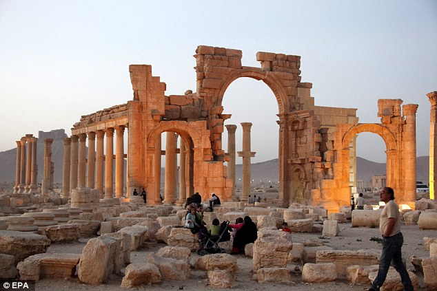 The United Nations has described the destruction of UNESCO world heritage sites as a war crime