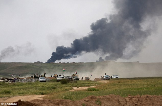There have been co-ordinated attacks on ISIS positions in villages surrounding Mosul to cut off the terrorist organisation's supply lines before beginning the process of retaking the city