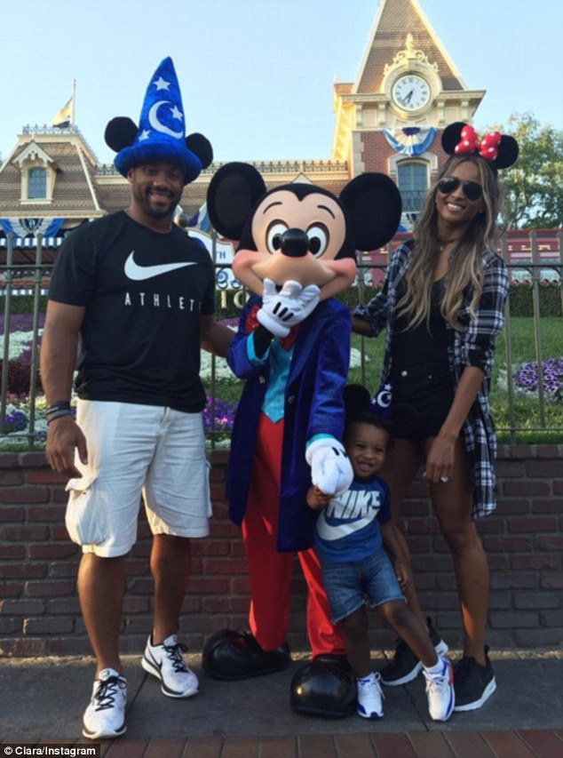 Ciara And Seahawks Fiance Russell Wilson Take Her Son To