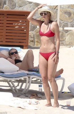 Good pals:After an onslaught of professional woes, Maria Sharapova was spied living it up in Mexico with good friend Chelsea Handler on Monday, as they continue a sun-soaked getaway