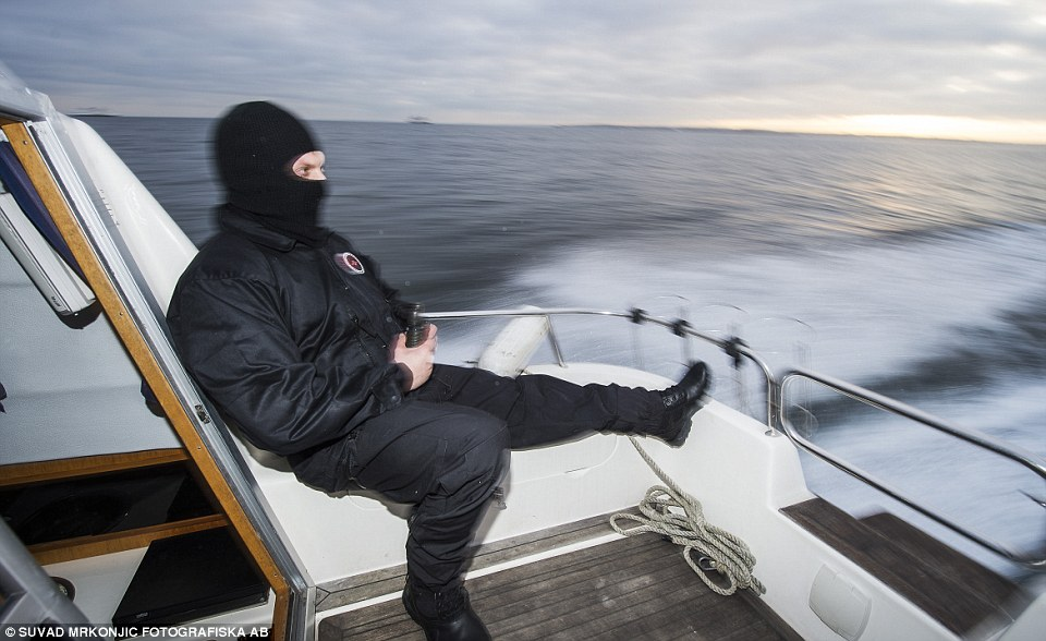Spike: Swedish special prosecutorJohan Larsson saysthere has been a spike in crimes involving smuggling immigrants illegally into Sweden from Denmark - 101 people were arrested last year compared to just 21 in 2014 - 44 people have been arrested so far in 2016