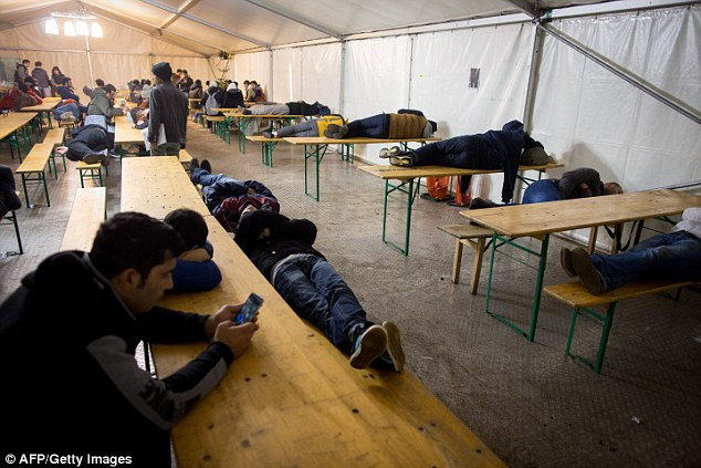1.1 million asylum seekers entered the country last year with Germany defiantly keeping its border open whilst many of its neighbours chose to shut their borders