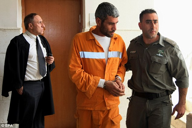 Ms Wilson was horrified to learn from news reports that her assailants - one of whom as Kifah Ghanimat, pictured, were being paid a monthly stipend equivalent to £750 each effectively from the Palestinian Authority