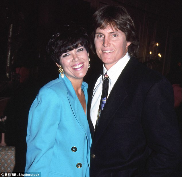 Bruce Jenner had already been taking hormones for years before he met Kris at a charity golf tournament (pictured together in 1991)