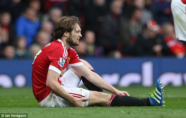 Daley Blind was magnificent in containing Romelu Lukaku and left to a standing ovation after a late injury