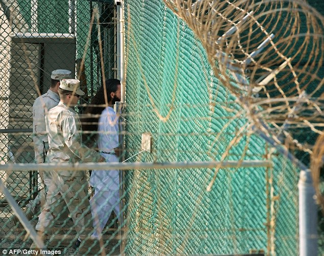 Close its doors: Their departure comes amid an effort by President Barack Obama to release Guantanamo (file photo pictured above) prisoners who are no longer deemed a threat and to eventually close the detention center, a prospect that faces strong opposition in U.S. Congress