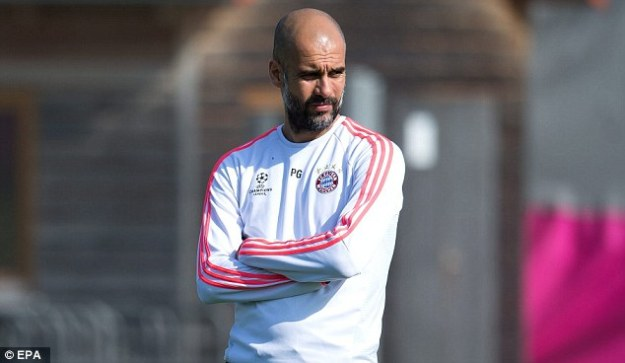 Bayern Munich boss Pep Guardiola will replace him on a deal worth a reported £15million per season