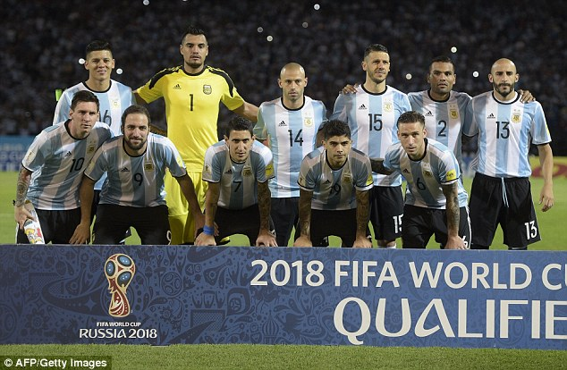 Argentina have risen to the top of the FIFA world rankings after being knocked off by Belgium last November