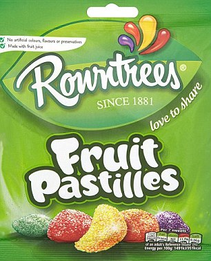 Rowntrees Quietly Shrinks Sweet Packets Without Shrinking