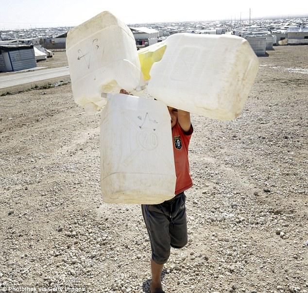 Killian Kleinschmidt era el director de un extenso campamento de refugiados sirios en Zaatari (en la foto), Jordan