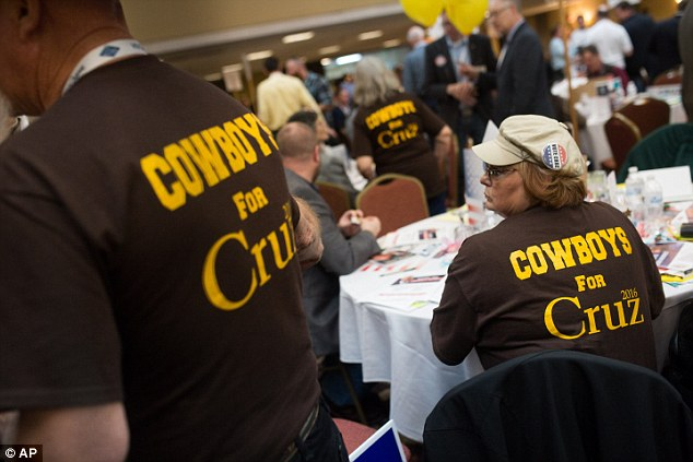 DELEGATES UP FOR GRABS: Cruz loyalists were named to all of Wyoming's open slots for Republican National Convention delegates over the weekend