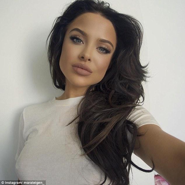 She looks familiar... Mara Teigen is Angelina Jolie's latest gorgeousdoppelgänger