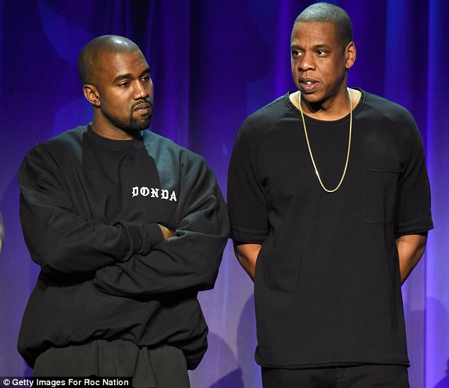 Whoops! Jonathan claimed Rihanna was 'upset' with the success achieved on the steamer, which also saw Kanye West's The Life of Pablo fail to chart when it was released