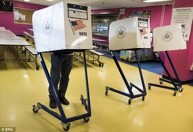 DECISION DAY: New Yorkers cast their ballots today in both parties' primary elections.