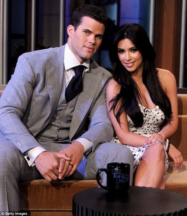 Short-lived: Kim was married to NBA player Kris Humphries for just 72 days in 2011