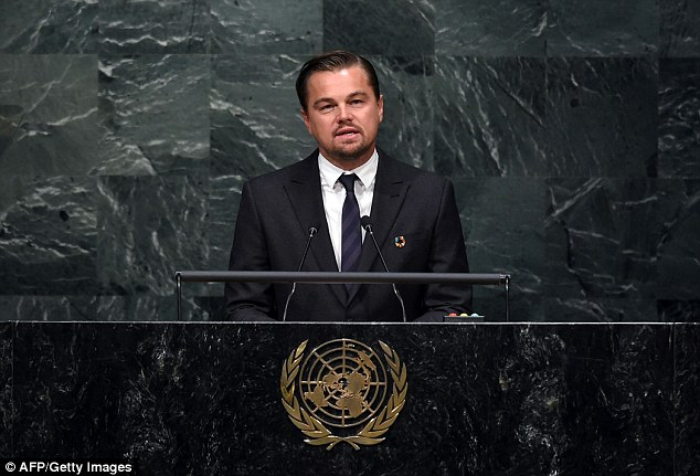 Leonardo DiCaprio Gives Impassioned Speech About Climate