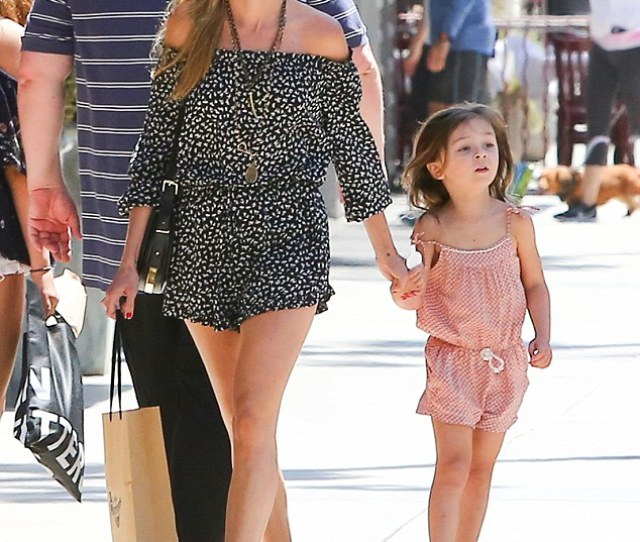 Girls Day Out Kimberly Stewart 36 Didnt Let Her Daughter Delilah
