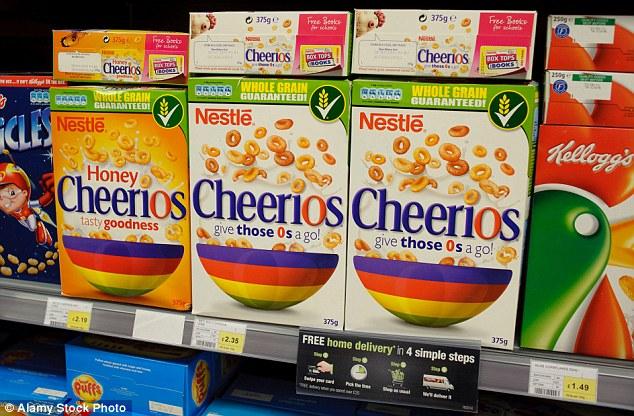 Os podéis acordar de lo que significa cheerio si lo asociáis, por ejemplo, a la marca de cereales tan popular en el país. Foto cortesía de Daily Mail.