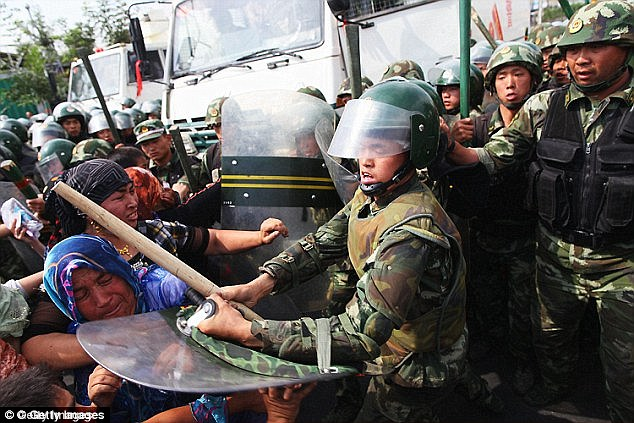 Last year there were violent clashes between police and Muslim Uighurs after the state banned civil servants, students and teachers from fasting during Ramadan and ordered restaurants to stay open