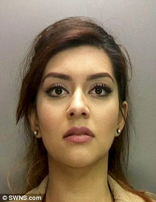 Ayesha Ahmed, 27, of Dudley, was caught speeding in her BMW twice within five minutes by a mobile camera van parked near her home