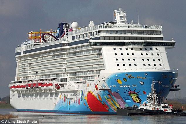 El Norwegian Breakaway fue en un crucero de 14 días a las Bahamas y las Bermudas desde Nueva York (foto de archivo)