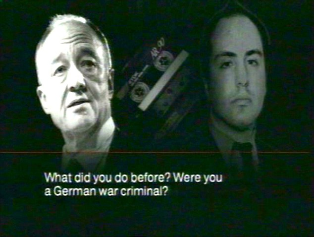 Row: Ken Livingstone was recorded comparing Jewish journalist Oliver Finegold (right) to a 'German war criminal' , which ended up in the High Court