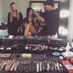 Kim Kardashian Share Semi-nude Photo