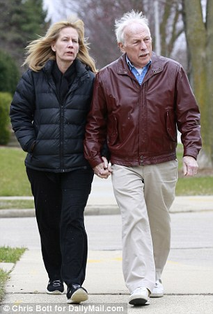 Ron Miscavige, pictured with his wife, Becky, writes in his memoir, 'Ruthless: Scientology, My Son David Miscavige, and Me', writes that he first met Lisa Marie Presley in 1988