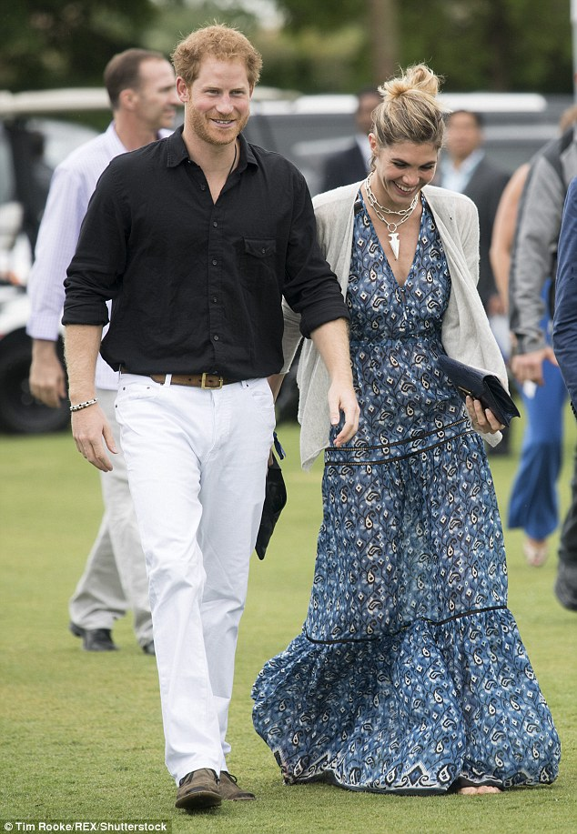 Prince Harry Hits The Polo Field For A Charity Match After