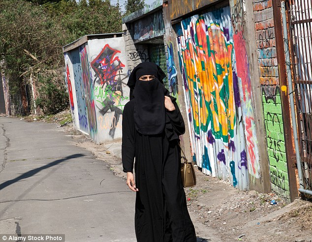A Muslim group has said that women members should not travel more than 48 miles alone (picture posed by model)