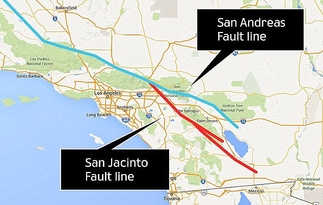 julian lozos an assistant geophysics professor at california state university claimed there is a