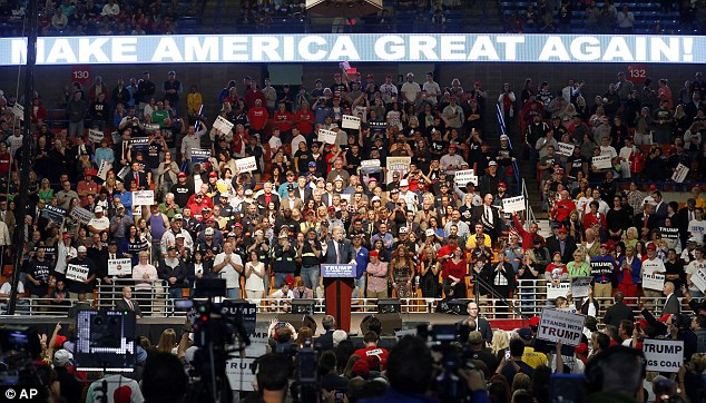 Image result for crowd at trump rally in west virginia