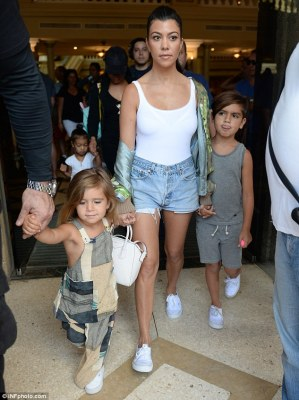 Farewell Havana: The Kardashians left Cuba on Friday, and Kourtney was seen leaving the Parque Central Hotel with Mason, Penelope and North