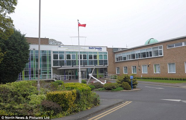 Alosaimi studied at South Tyneside College¿s Marine School (pictured) sharing a flat nearby with a Kuwati friend