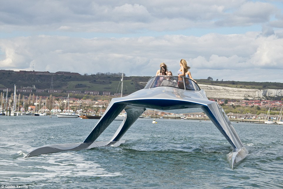 Glider Yachts Unveils SS18 Prototype Daily Mail Online