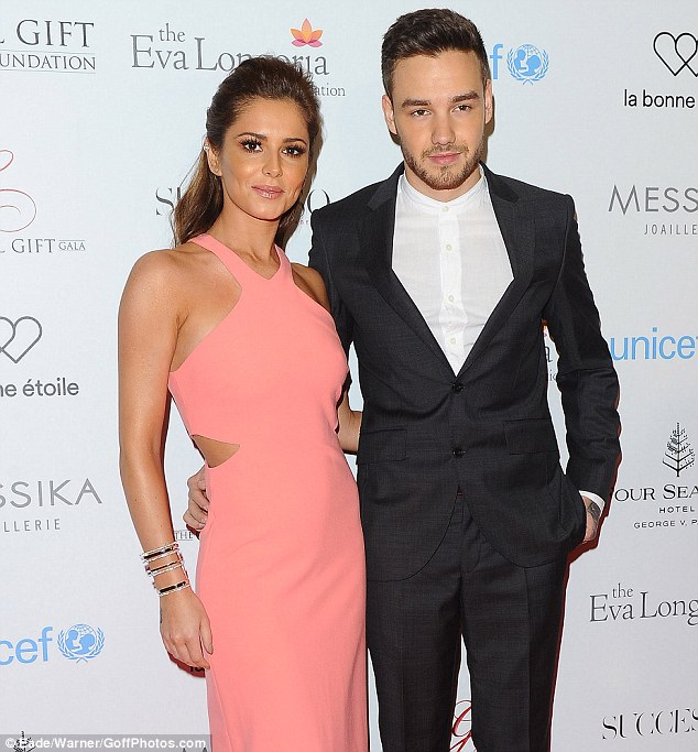 Image result for cheryl and liam daily mail