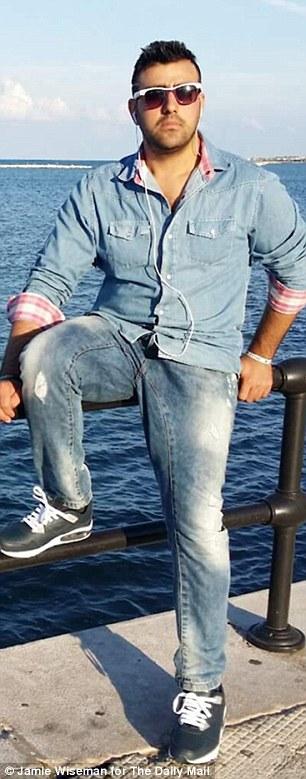 Jet-setter: Nasiri by the sea in Bari, Italy