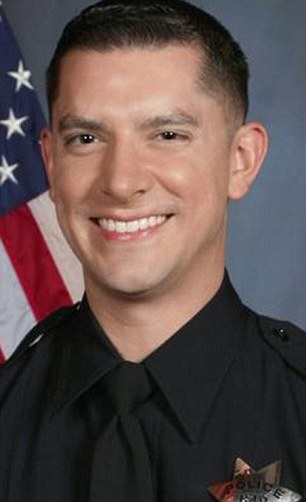Suicide: Officer Brendan O¿Brien was the first of 21 police officers Guap would have sex with. He killed himself in September 2015