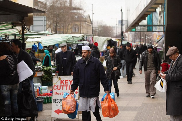 The programme, which airs on BBC1 on May 24, explores the reason why there has been a huge drop in the white British population