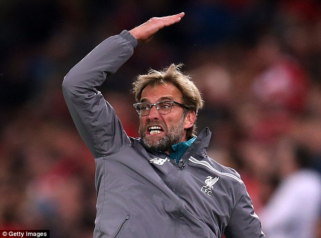 Klopp became angrier and more frustrated in the second half as Liverpool fell apart in the Basle