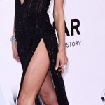 Alessandra Ambrosio's Sexy Style At The amFAR's 23rd Gala