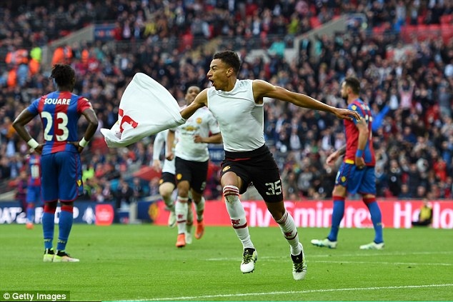Jesse Lingard came on to score an extra-tie winner in the 2-1 defeat of Crystal Palace at Wembley