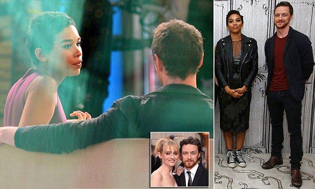 James McAvoy Returns To X Men Promo With Co Star Alexandra