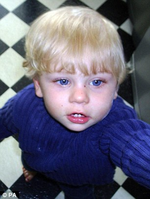 The report links the surge in reports to the public exposure given to the shocking deaths of toddlers Baby P (pictured), Keegan Downer and Ayeeshia Jane Smith