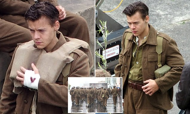 Harry Styles Shows Off His New 1940s Style Military Cut On