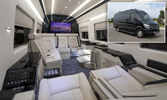 Inside The 400k Mercedes Private Jet Of Vans With